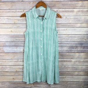 Anthropologie 11•1 Tylho Percy Striped Tunic Top S